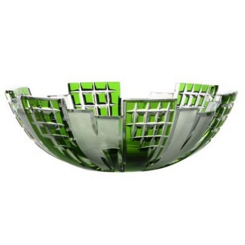 Mísa Metropolis, barva zelená, průměr 180 mm