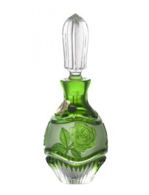 Flakon Růže+mazátko, barva zelená, objem 130 ml