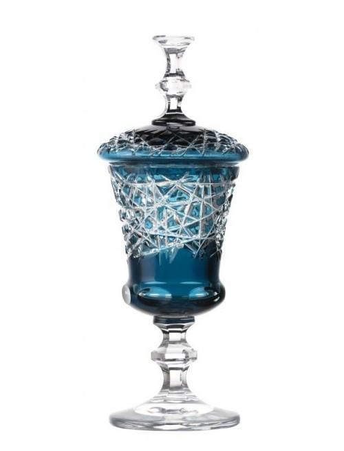 Pohár Taiga, barva azurová, výška 350 mm