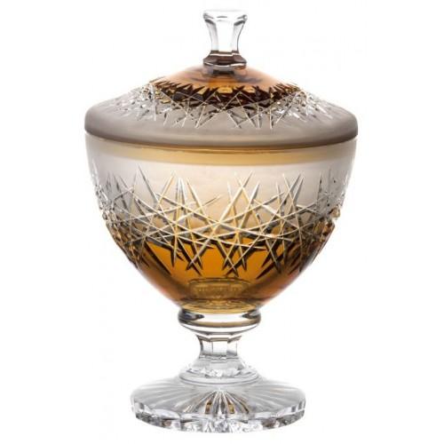 Dóza Hoarfrost, barva amber, výška 260 mm