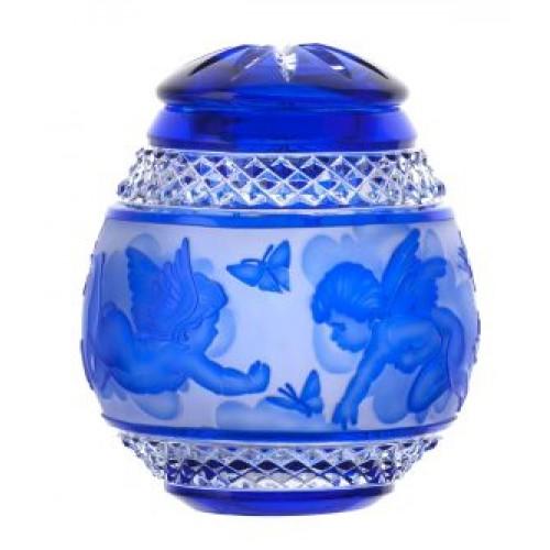 Urna Anděl, barva modrá, velikost 145 mm