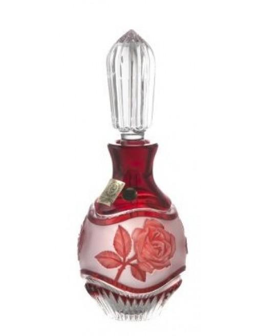 Flakon Růže+mazátko, barva rubín, objem 130 ml