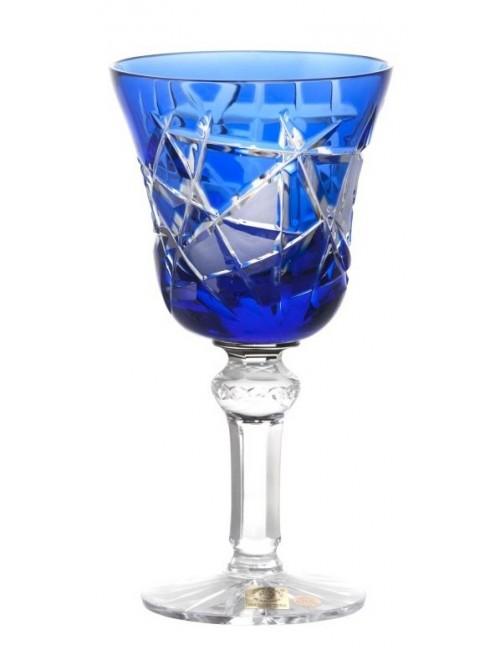Sklenice na víno Mars, barva modrá, objem 180 ml