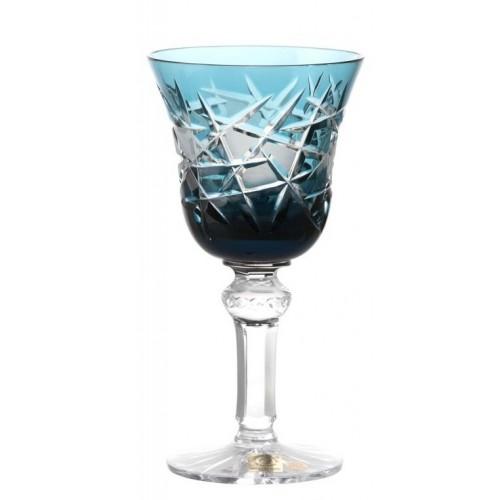 Sklenice na víno Mars, barva azurová, objem 180 ml
