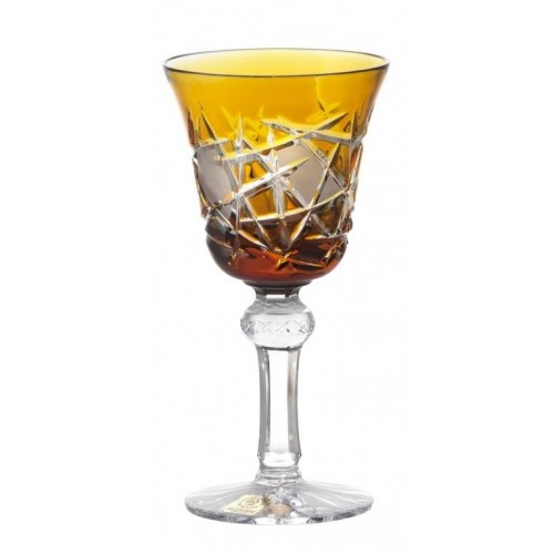 Sklenice na víno Mars, barva amber, objem 180 ml