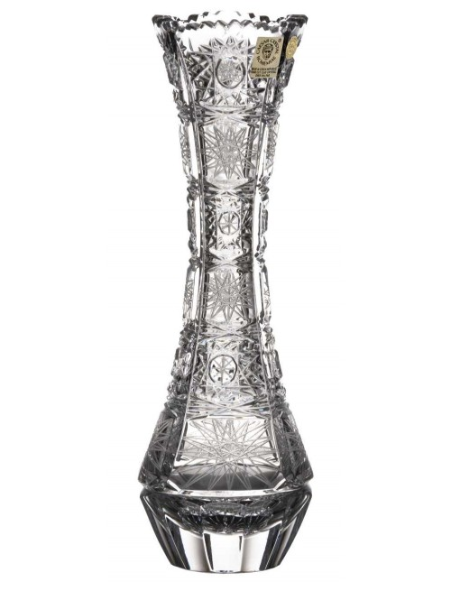 Váza 500PK, barva čirý křišťál, výška 230 mm