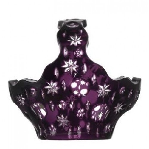 Koš Lyra, barva fialová, průměr 150 mm