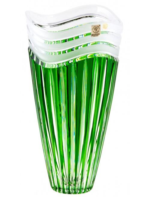 Váza Dune, barva zelená, výška 270 mm