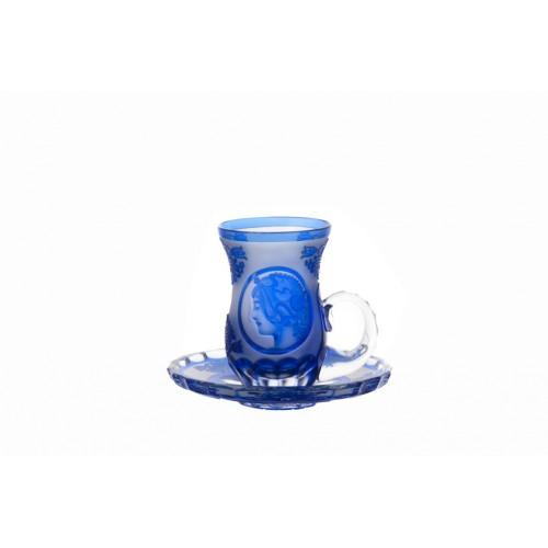 Set Mucha 2+2, barva modrá, objem 100 ml