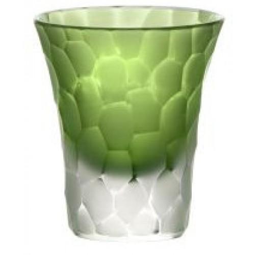 Likérka podjímaná- kuličky mat, barva zelená, objem 45 ml