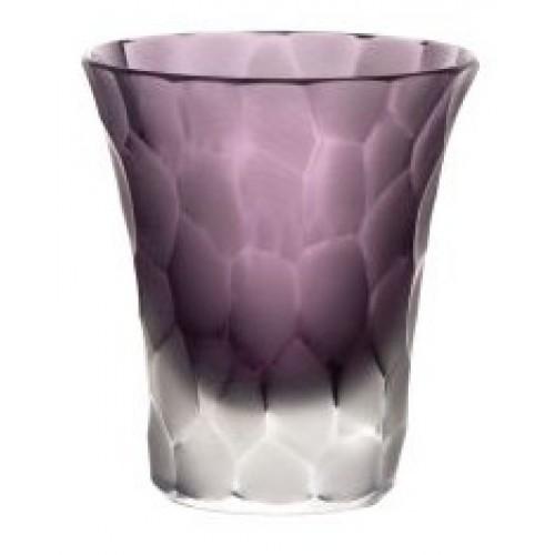 Likérka podjímaná- kuličky mat, barva fialová, objem 45 ml