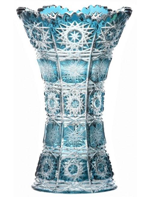 Váza Paula, barva azurová, výška 155 mm