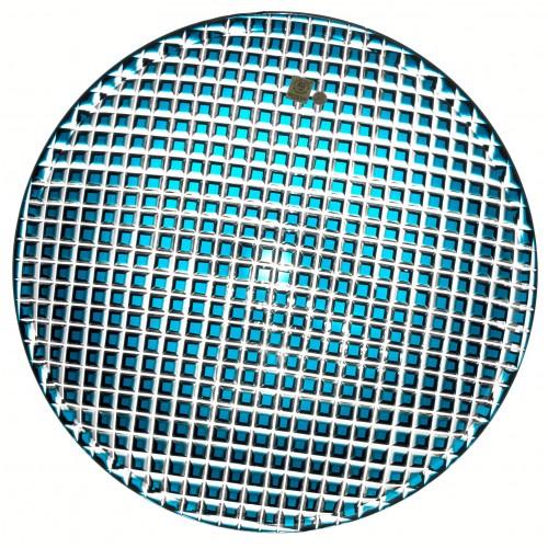 Talíř Káro, barva azurová, průměr 350 mm