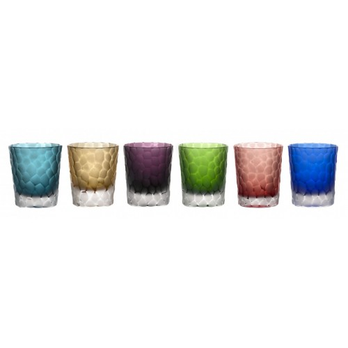 Set podjímaný - kuličky mat, barva mix barev, objem 290 ml