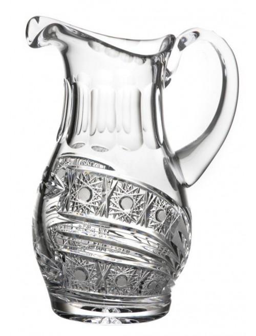 Džbán Kometa, barva čirý křišťál, objem 1250 ml