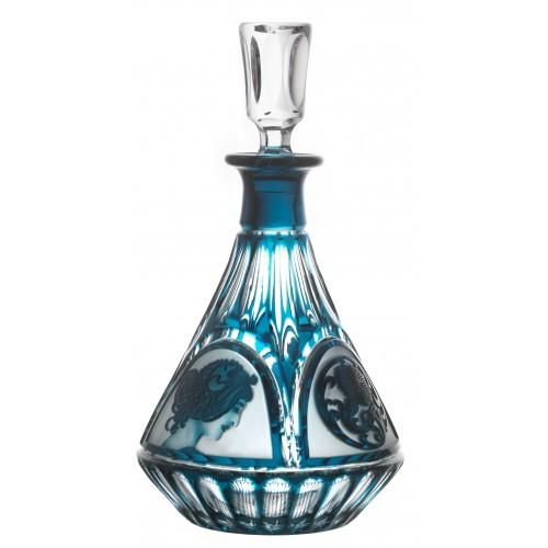 Láhev Mucha, barva azurová, objem 1250 ml