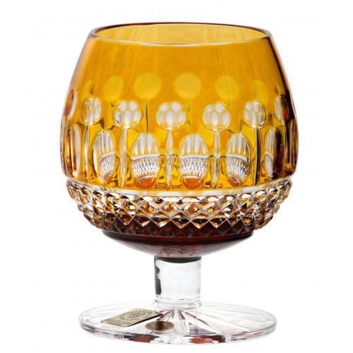 Sklenička Brandy Tomy, barva amber, objem 230 ml