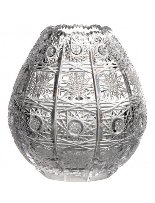 Váza 500PK, barva čirý křišťál, výška 135 mm