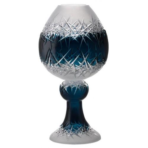 Váza Hoarfrost, barva azurová, výška 560 mm