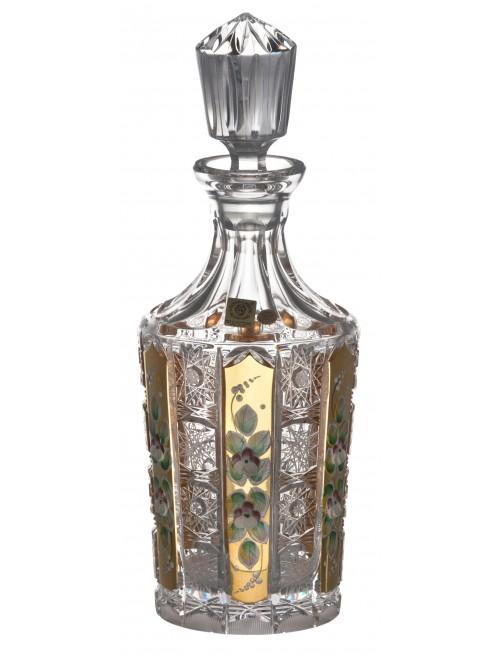 Láhev 500PK Zlato, barva čirý křišťál, objem 750 ml