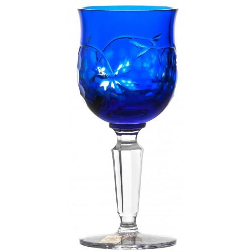 Sklenice na víno Grapes, barva modrá, objem 140 ml