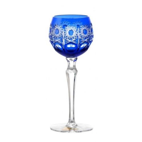 Sklenice na víno Petra, barva modrá, objem 170 ml
