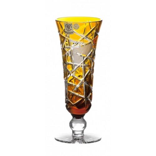 Sklenice na víno Mars, barva amber, objem 150 ml