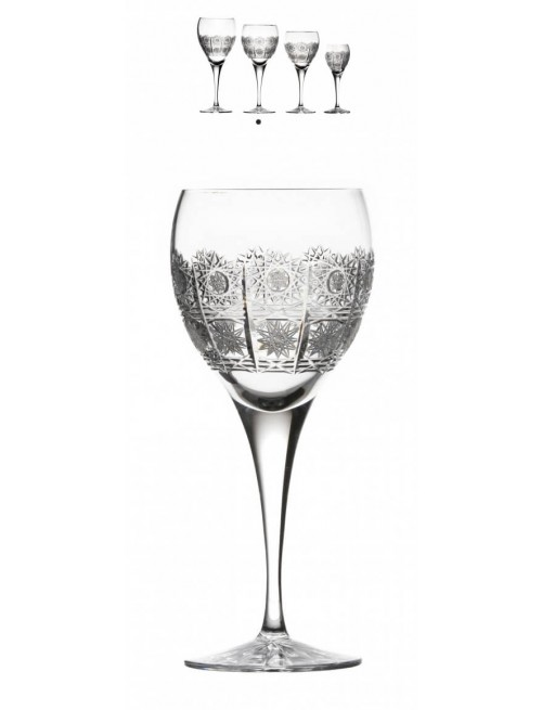 Sklenice na víno Fiona, barva čirý křišťál, objem 340 ml