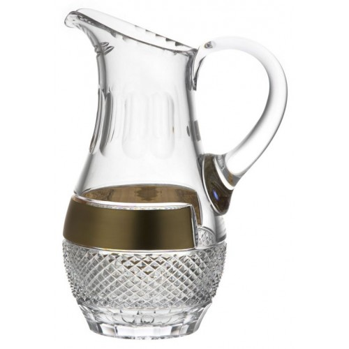 Džbán zlato, barva čirý křišťál, objem 1500 ml