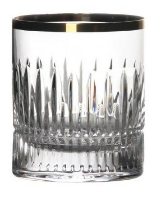 Sklenička Thorn zlato, barva čirý křišťál, objem 320 ml