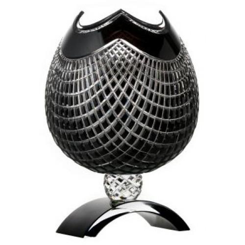 Váza Quadrus, barva černá, výška 316 mm