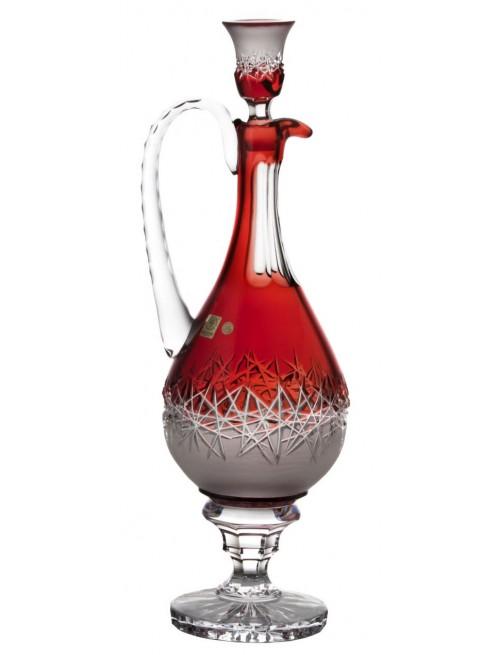 Karafa Hoarfrost, barva rubín, objem 1500 ml