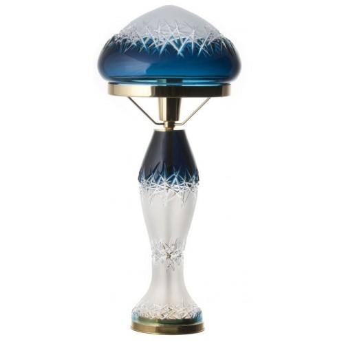 Lampa Hoarfrost, barva azurová, výška 475 mm