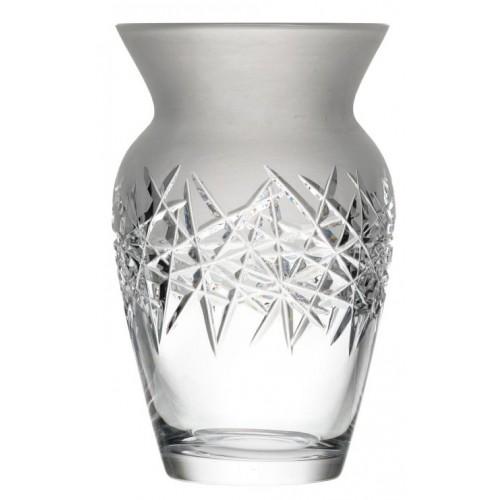 Váza Hoarfrost II, barva čirý křišťál, výška 255 mm