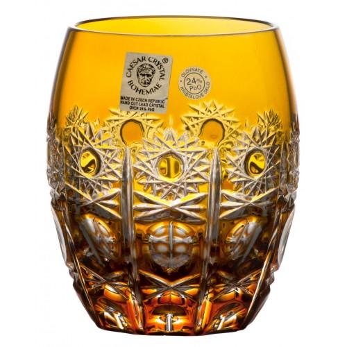 Sklenička Petra, barva amber, objem 250 ml