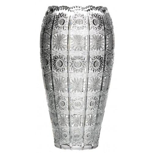 Váza 500PK VII, barva čirý křišťál, výška 355 mm