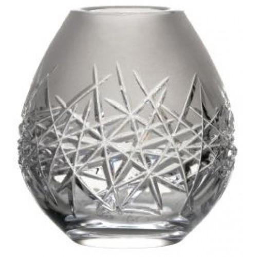 Váza Hoarfrost, barva čirý křišťál, výška 135 mm