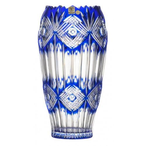 Váza Mary, barva modrá, výška 255 mm