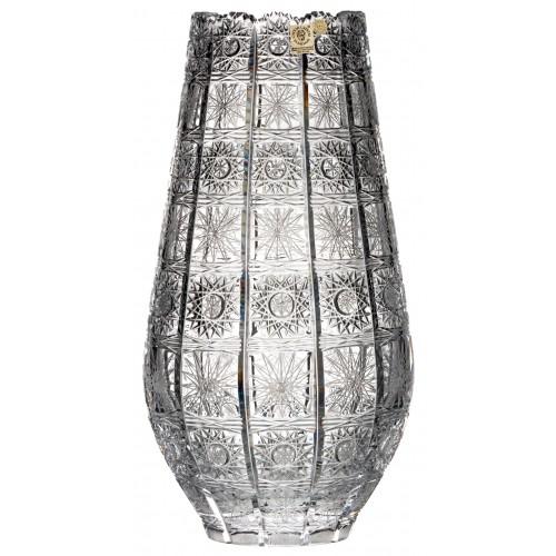 Váza 500PK VIII, barva čirý křišťál, výška 305 mm