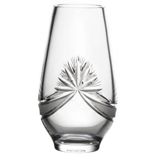 Váza Mašle, barva čirý křišťál, výška 255 mm