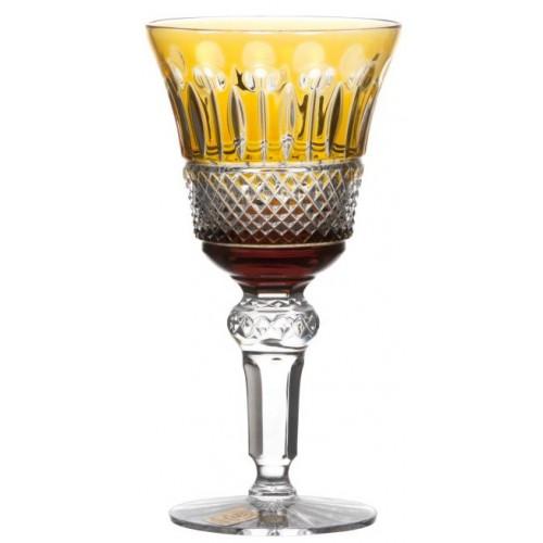 Sklenice na víno Tomy, barva amber, objem 180 ml