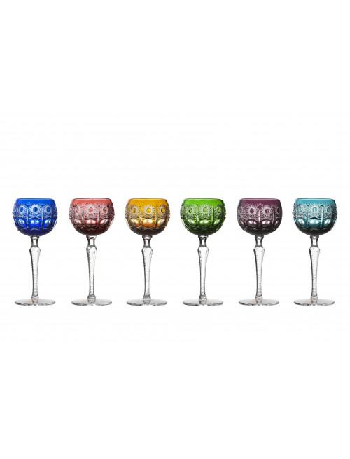 Set sklenice na víno Petra, barva mix barev, objem 190 mm