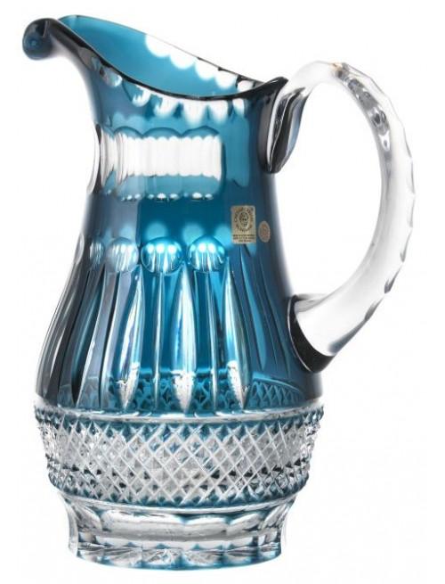 Džbán Tomy, barva azurová, objem 1300 ml