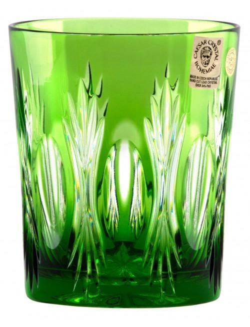 Sklenička Dandelion, barva zelená, objem 290 ml