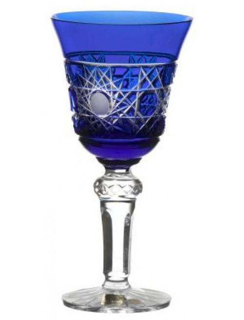 Sklenice na víno Flake, barva modrá, objem 240 ml