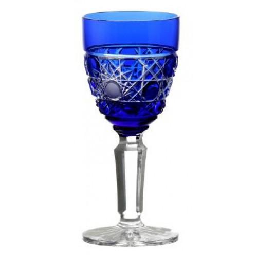 Sklenice na víno Flake, barva modrá, objem 105 ml