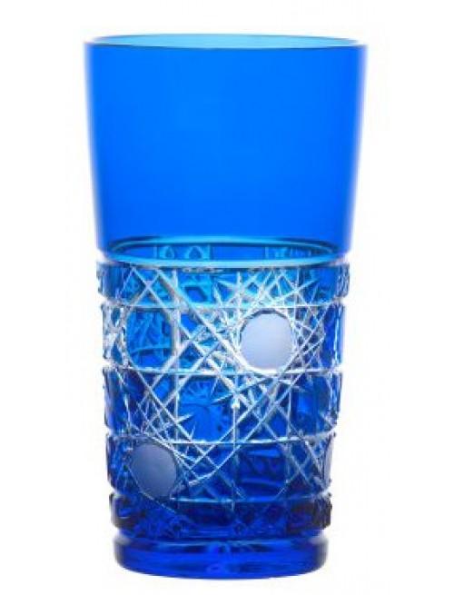 Sklenička Flake, barva modrá, objem 320 ml