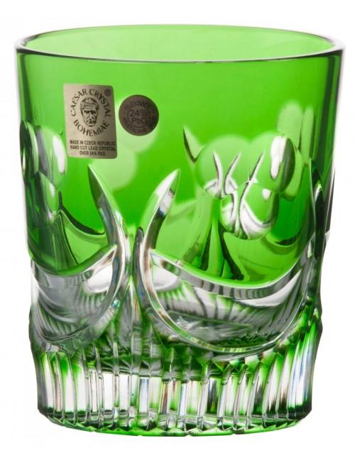 Sklenička Diadem, barva zelená, objem 290 ml