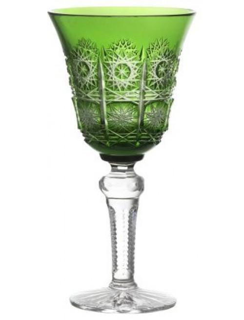 Sklenice na víno Paula, barva zelená, objem 240 ml