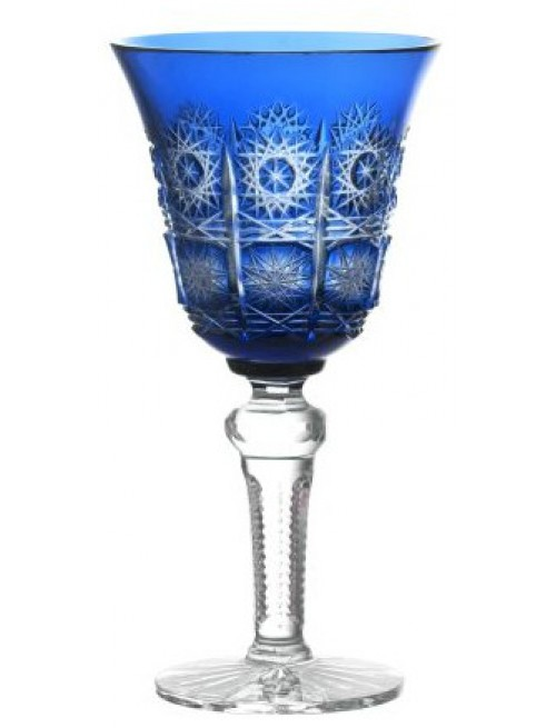 Sklenice na víno Paula, barva modrá, objem 240 ml